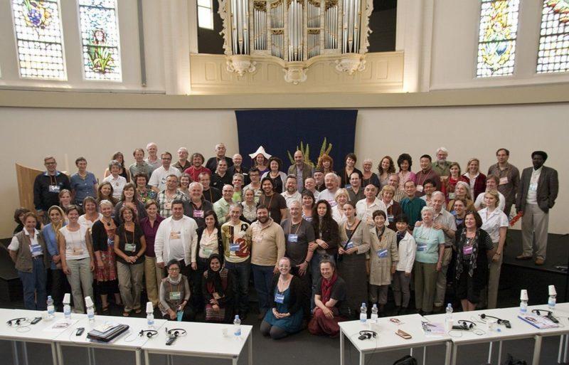 Asistentes al Congreso UNIMA 2010 en Dordrecht