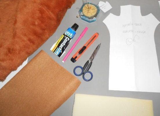 Materiales para hacer un peluche