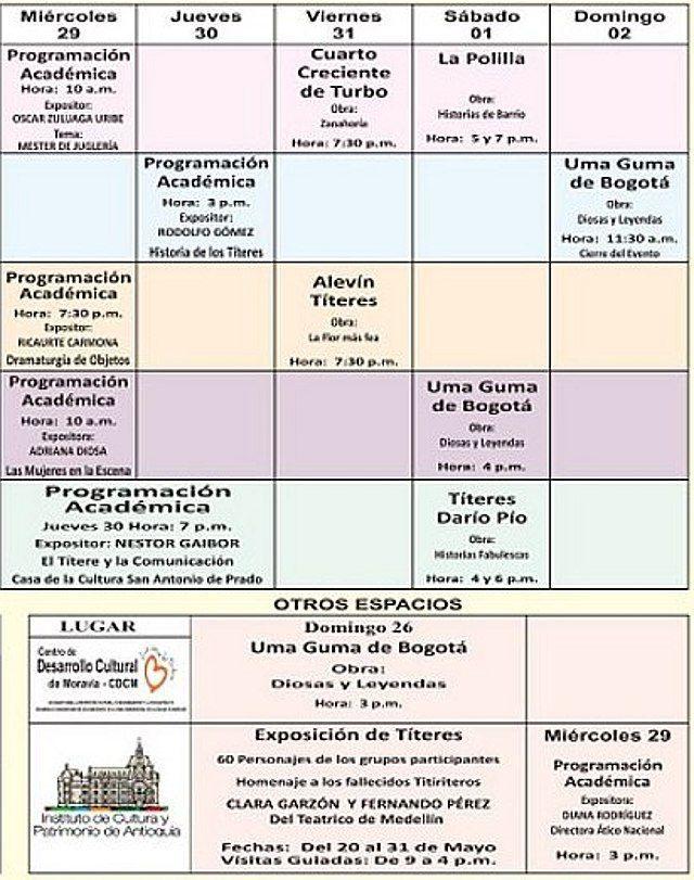 Programacion Titerefiesta Colombia-3
