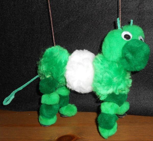 Cómo hacer una marioneta-caballo con pompones | Titerenet