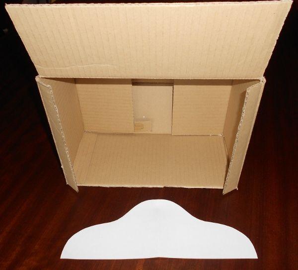 Cómo hacer un teatrillo con una caja de cartón | Titerenet