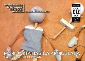 Curso de marioneta basica articulada