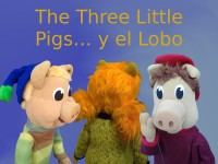 The three little pigs y el lobo-Marimba Marionetas