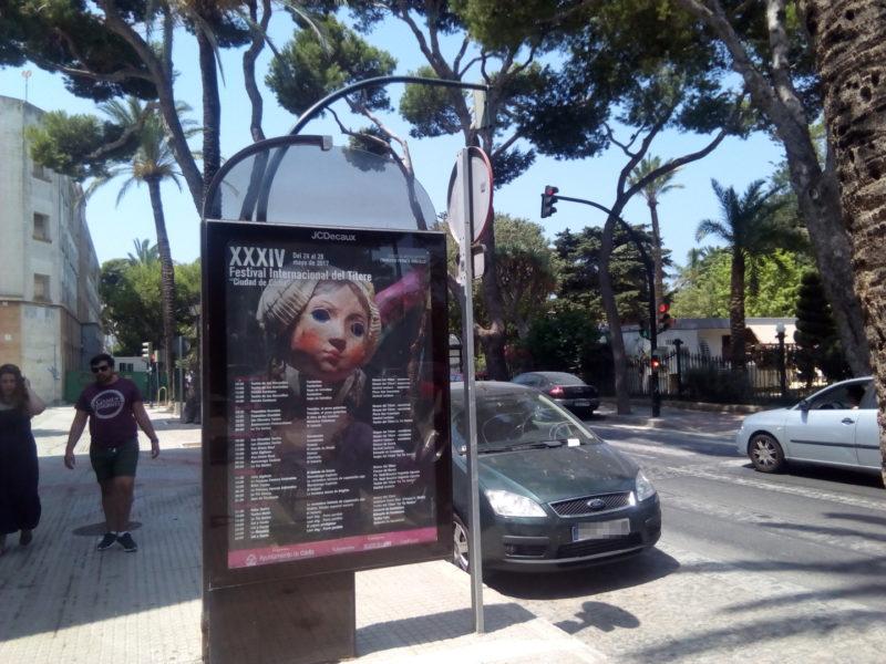 Cartel del Festival del Títere de Cádiz