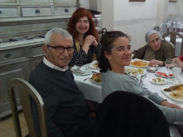La familia Peralta y Désirée Ortega
