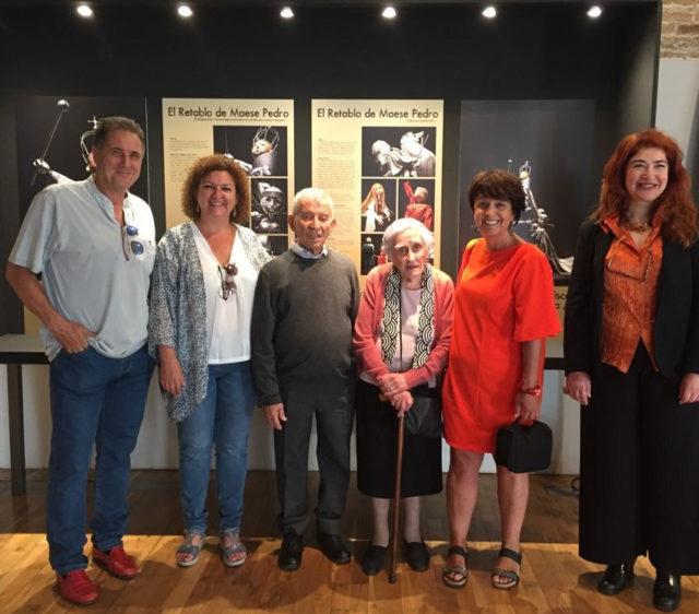 """Inauguración de la exposición itinerante """"Los títeres de Peralta en Segovia"""" en el Museo del Títere de Cádiz."""