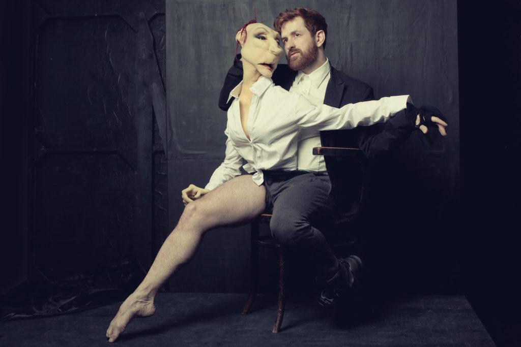 El bailarín y actor Duda Paiva