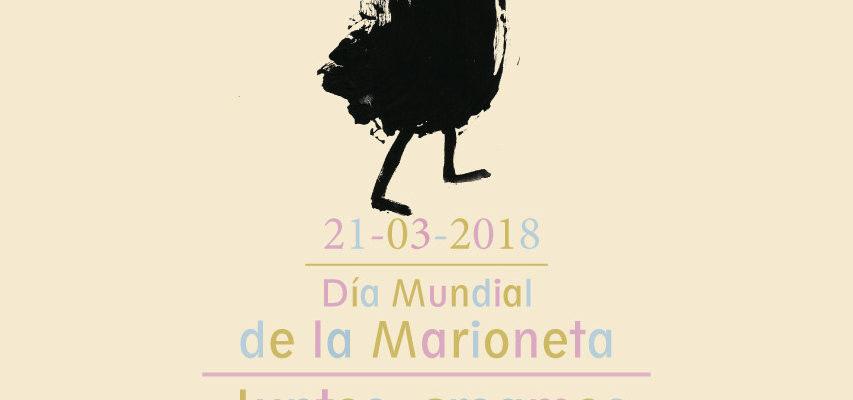 Cartel del Día Mundial de la Marioneta