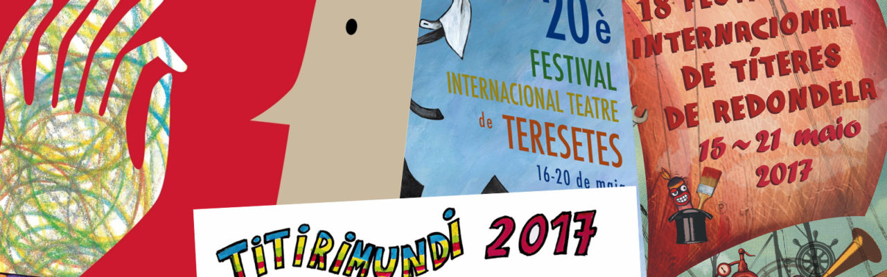 Carteles de Festivales de Títeres en España