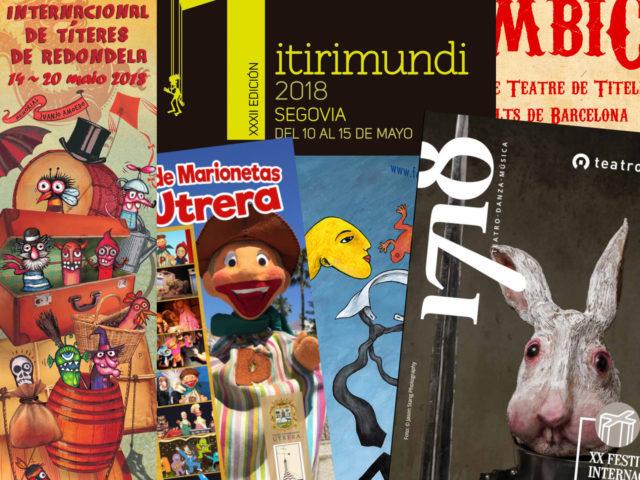 Festivales de títeres en España 2018