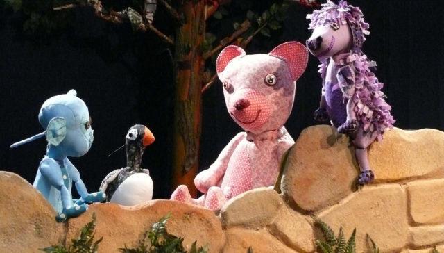Marionetas para niños de Títeres Cachirulo