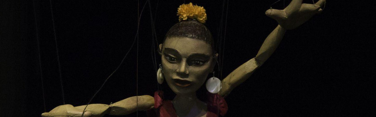 Marioneta de Helena Millán. Bailaora de flamenco, 2014