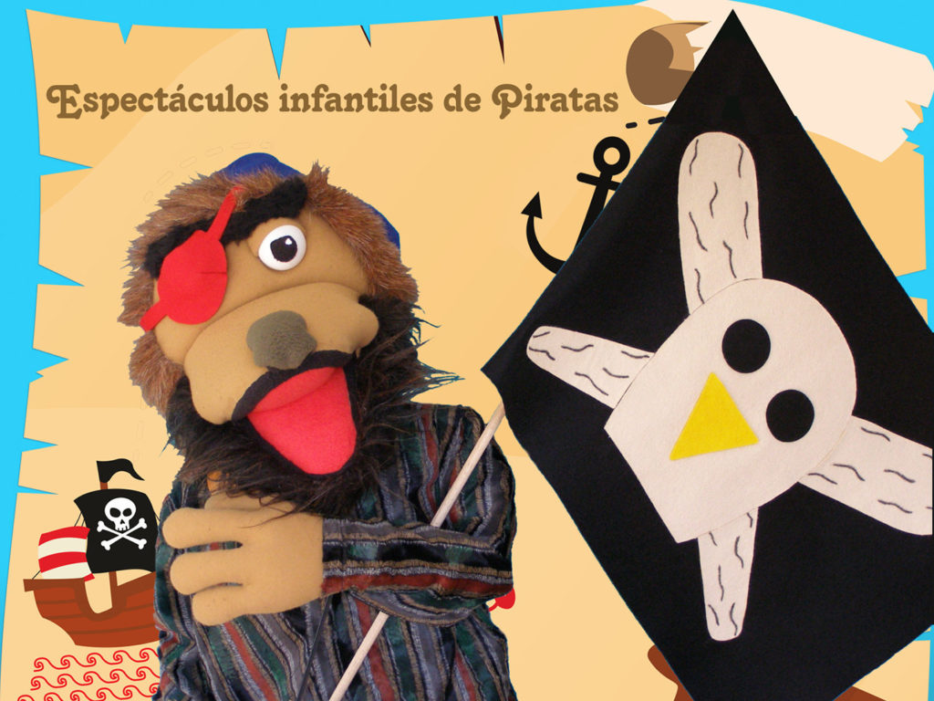 Espectáculos infantiles con títeres y piratas