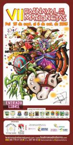 Cartel del VII Carnaval de Marionetas de Palmira